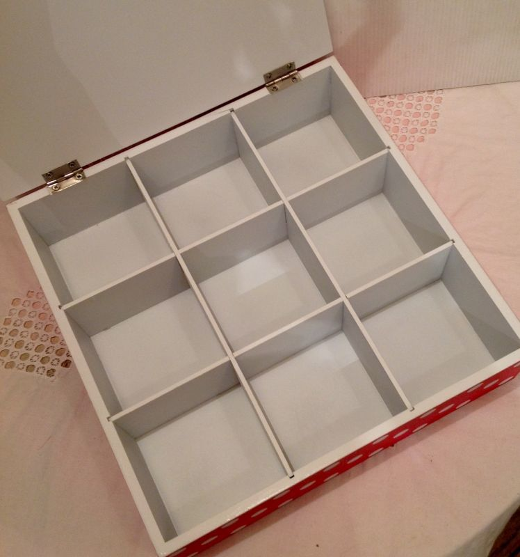 画像2: Tea Box ( red rose L)